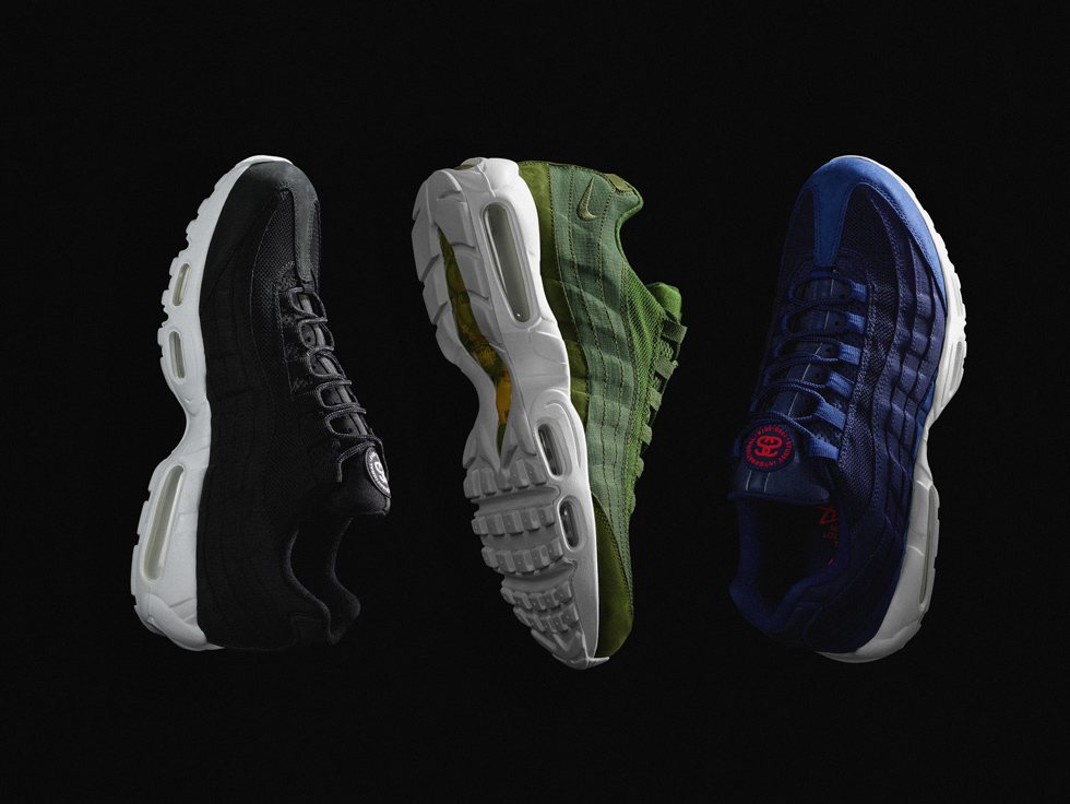 new concept 1cbf0 b9bb6 Stüssy Nike Air Max 95